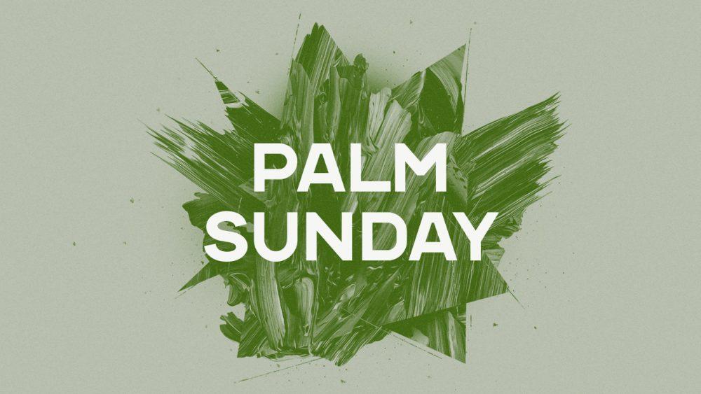 Palm Sunday: Jesus Image